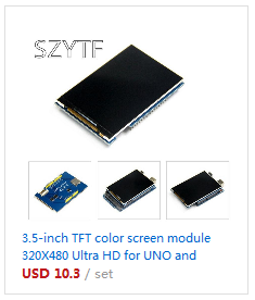 3 2 inch TFT LCD Touch Screen Module Display Ultra HD