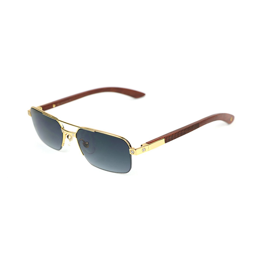 Gafas de sol de madera cuerno de búfalo gafas para mujeres y hombres ...