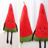 כמו בחיים כריות אבטיח אדום כותנה עמ פירות מוצרי קישוט בית מתנות ילדה בובת צעצועי קטיפה כרית גב כרית