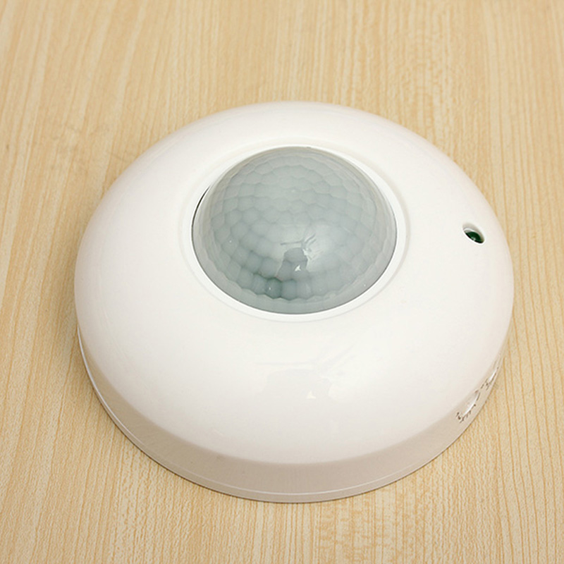360 Degree IR Infrared Human Body Indction Sensor Light Control Detector Module 50HZ 220 -240V AC PIR Motion Sensor Switch xsav11801 inductive proximity switch speed sensor motion rotate detector 0 10mm dc ac 24 240v 2 wire 30mm replace telemecanique