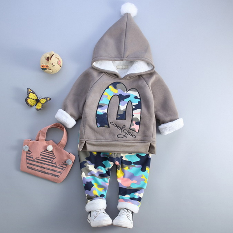 Children's Clothing Sets Boy Girl Clothing 1 2 3 4 Years Fashion Spring Autumn Winter Toddler Boy Clothing Outfit Wear baby girl boy clothing sets 2018 cartoon pattern autumn winter warm toddler vest shirt pants 1 2 3 4 years kid clothing suit