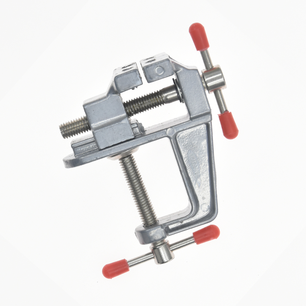 Pcs carving bench clamp table vise hand drilling woodworking
