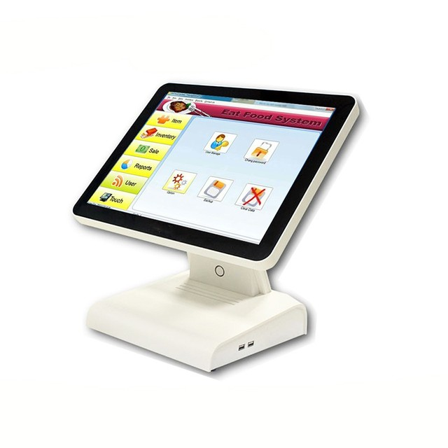 "Free Shipping Direct Touch POS 15"" POS All In One Touch System POS Software  POS1619 Cash Register"