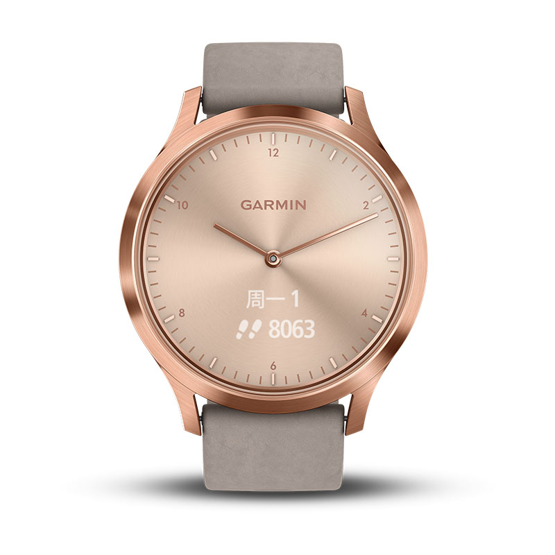 Lover's Watches Fast Deliver Garmin Vivomove Hr Men Womens Rose Gold Watches Clock Leather Simple Bracelet Watch Mesh Stainless Steel Smart Sports Watches Can Be Repeatedly Remolded.