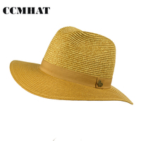 Women S Sun Hat 2017 Fashion Seaside Female Sun Visor Hat Women Large Brimmed Summer Straw