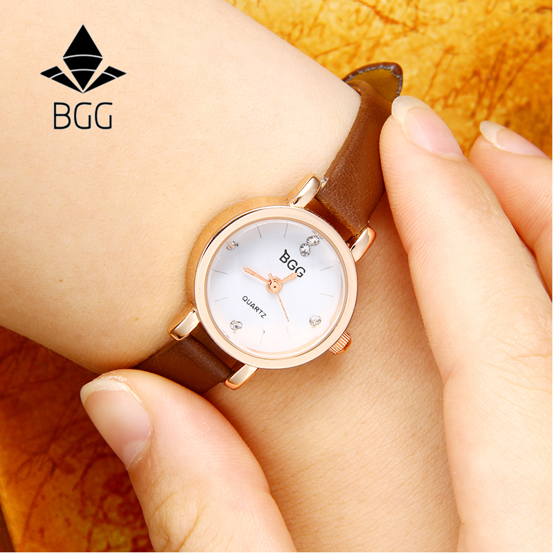 New Fashion Small Dial Charm Ladies Wristwatches Women Quartz Leather Strap Watches relojes mujer Retro Black Famale Clock Hours ladies watches fashion red simple design black water resistant life quartz watch dress leather clock women casual relojes mujer