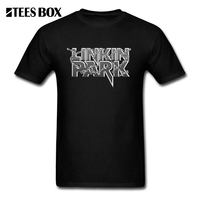 Tees Linkin Park Heavy Metal Rouck Style Man T Shirt O Neck Round Neck Short Sleeve