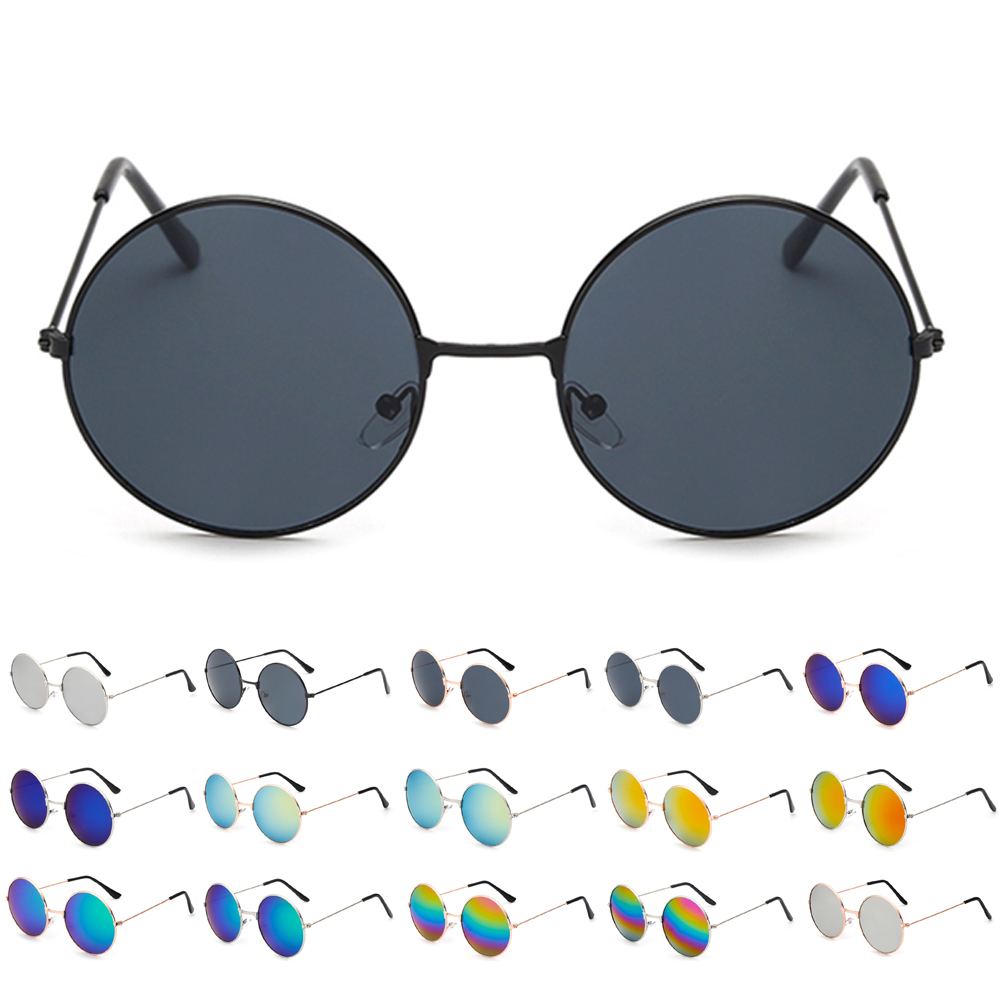 Lunettes de Soleil roses femmes nouvelle marque Designer hommes lunettes De Soleil rondes Oculos de sol circulaire mode lunettes De Soleil Lunette de Soleil Femme