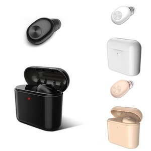 TWS V4.2 Wireless Earphone Blu