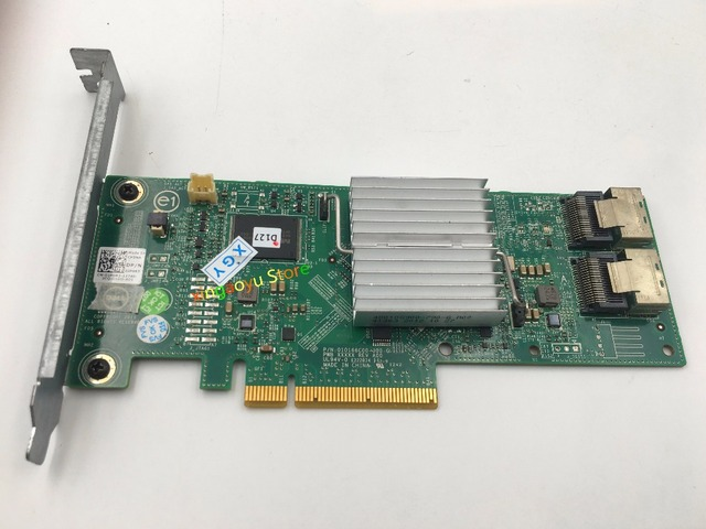 US $105 0 |CN 03P0R3 For DELL PERC H310 DP/N 3P0R3/ 03P0R3 SATA3 6G pci E  Array Card-in Computer Cables & Connectors from Computer & Office on