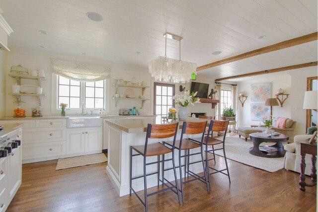 Cucine Con Bancone In Legno : 2017 in legno massello mobili da cucina con granito da banco armadio