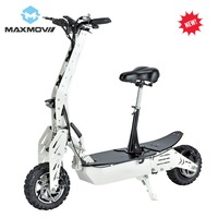 2019 Popular 1000W Rear Hub Motor Electric Scooter with 12Ah Lithium Battery Power and Lights