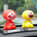 New Car Styling Cute Bobblehead Doraemon Doll Car Nodding Dog Shakes His Head Shaking Dog For Car Decoration Furnishing Articles