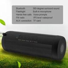 Оригинал Спорт на открытом воздухе Super Bass T2 Водонепроницаемый Велоспорт Bluetooth Динамик беспроводной Hi-Fi мини для сотового телефона/iPhone/Samsung