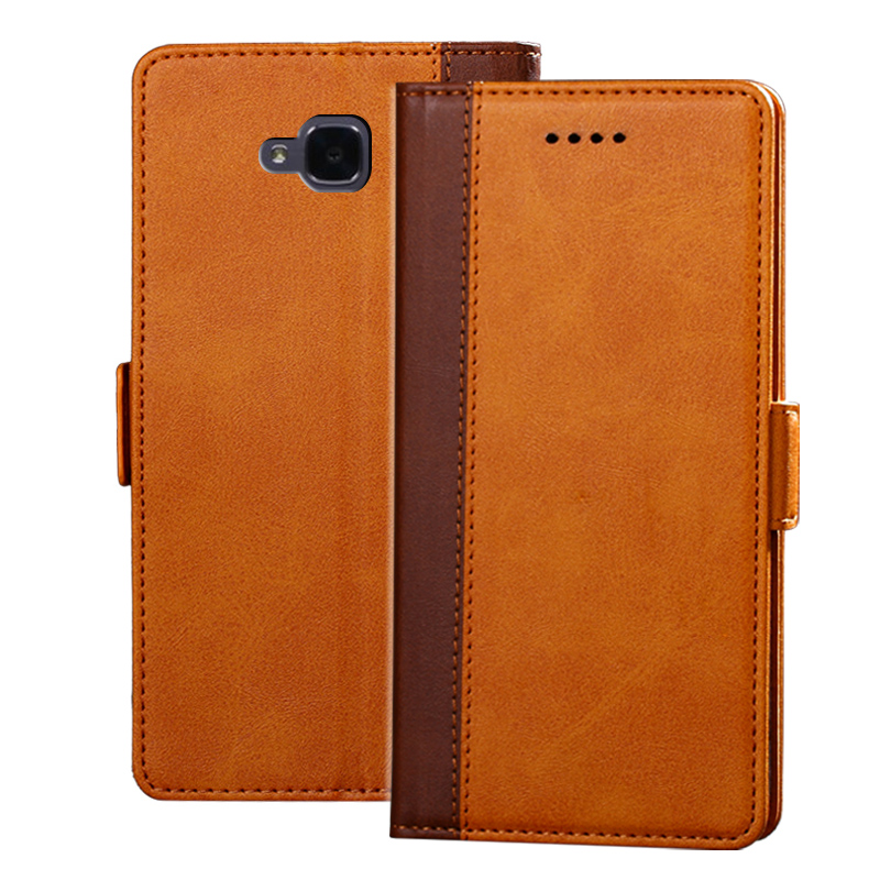 Luxury Leather Flip Cover Case For Huawei Honor 5C europe Wallet Phone Bag Coque For Huawei Honor 5C Without Fingerprinting