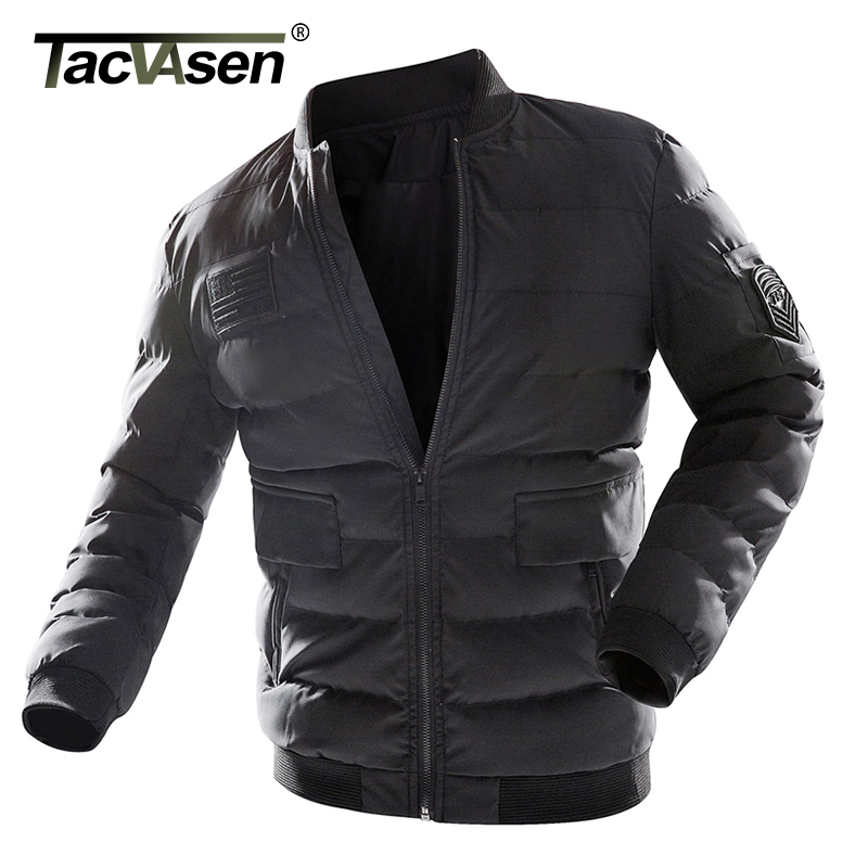 TACVASEN Males Winter Tactical Jacket Thermal Navy Jacket Man Parkas Thicken Cotton Informal Jacket Coat Military Clothes Plus Measurement Jackets, Low-cost Jackets, TACVASEN Males Winter Tactical Jacket Thermal Navy...