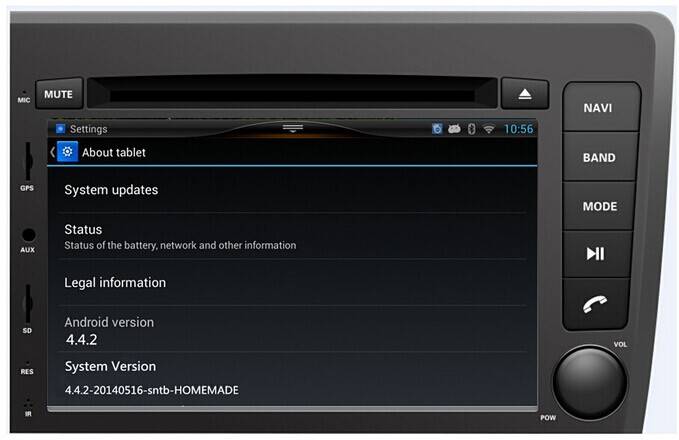For 2014 Pure Android 4.4.2 Car DVD for Volvo S60/V70 2001-2004 GPS with Waze Radio TV CD +Capacitive Touch Screen WIFI 3G  new kolona vojsk s opolcheniya voshla v doneck 05 07 2014