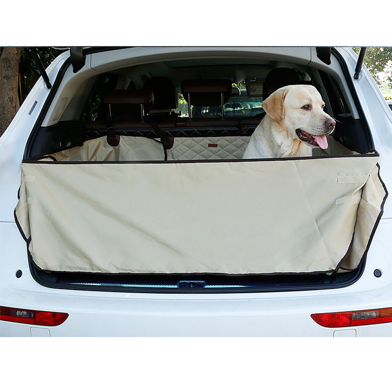 Dual-Use SUV Dog Cargo Liner Dog Pet Seat Cover Mat for SUV Truck dog cargo cover Pet Dog Car Seat Protector Cover Pet Barrier