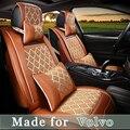 De cuero cubierta de asiento de coche para Volvo XC90/60 S90/80 S60/L V60/40/90 cruz T8 5 asiento Cojín Del Asiento 4 Temporada Manta De Protección 0414