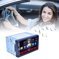New Car DVD Professional 7 Inch HD 1024 600 Capacitive Screen 7 Colorful Lights Function With