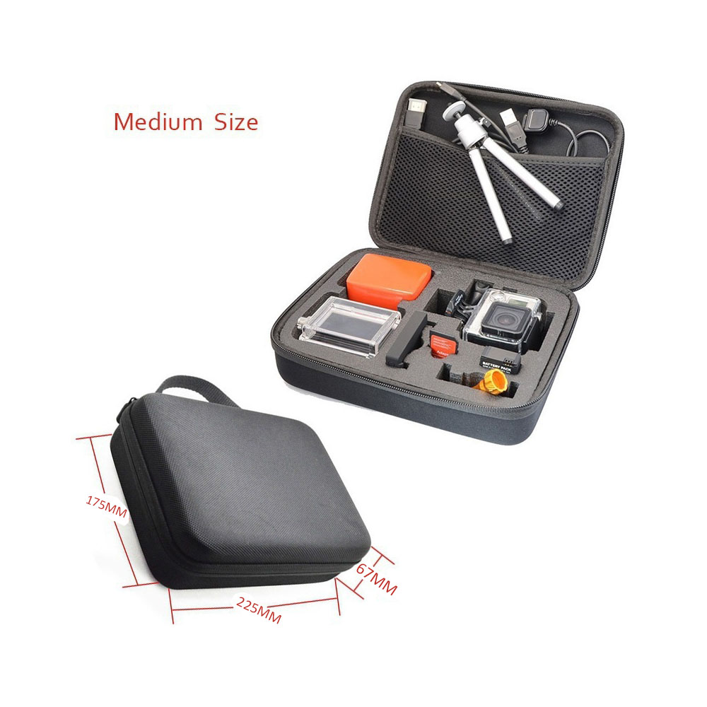 Image 5 - Andoer Portable Action Camera Case Protective Case for GoPro Hero Sport Camera Accessory Anti shock Storage Bag-in Sports Camcorder Cases from Consumer Electronics
