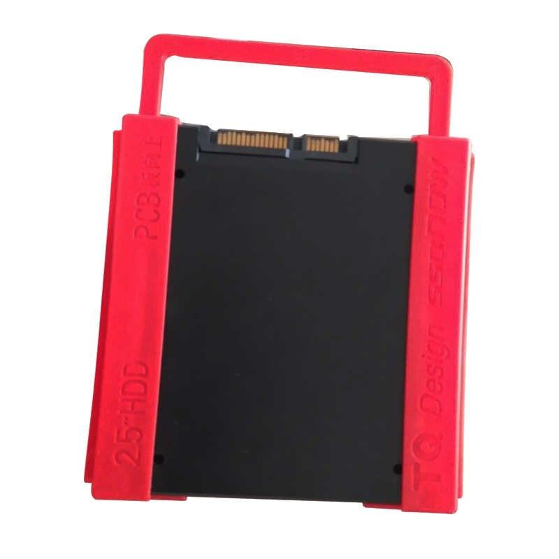 """2.5 """"đến 3.5"""" SSD HDD Nhựa Môi Trường Adapter Gắn Bracket Ổ Cứng Chủ cho Desktop PC"""