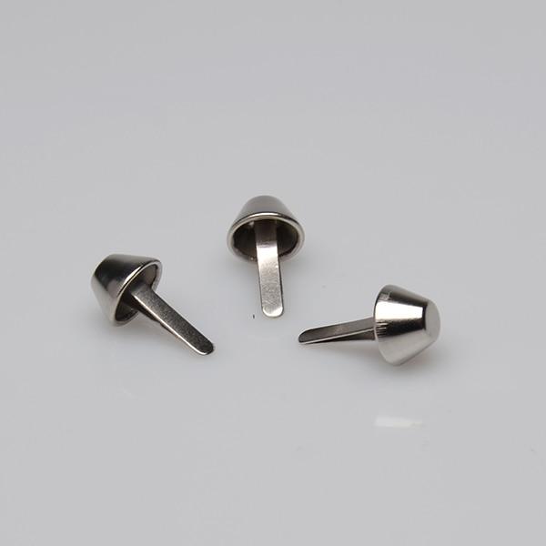 1000 шт., серебристые ножки для сумочки/кошелька, 15 мм