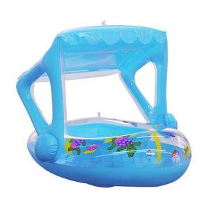Flotador de piscina para bebé, bote inflable de dibujos animados para niños, tumbonas de piscina inflables para bebé, juguetes de piscina al aire libre, balsa flotante