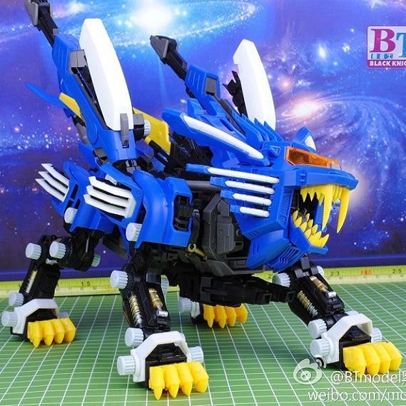 BT Model Building Kits: ZOIDS RPZ-028 Blade Liger AB Bang Ver. 1:72 Scale Full Action Plastic Kit Assemble Model Birthday Gifts