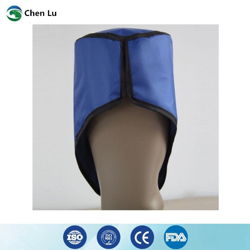 Image 3 - 本物の頭フル保護病院/研究室核放射線防護帽子ガンマ線 x 線シールド 0.5mmpb リードキャップ -    グループ上の セキュリティ