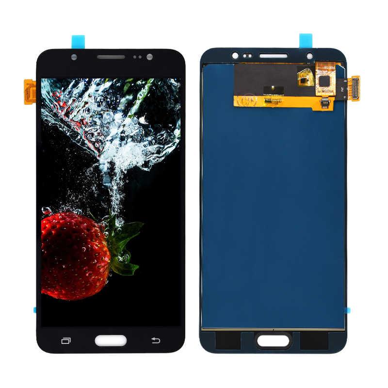 """5.5 """"สำหรับ samsung Galaxy J7 2016 จอแสดงผล J710 J710F J710M J710H J710FN LCD Display Digitizer หน้าจอสัมผัสสำหรับ samsung j7 j710 lcd"""