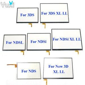 Image 1 - YuXi Touch Screen digitizer glas Touch Panel Display Vervanging Voor Nintendo DS Lite Voor NDSL NDSi XL voor Nieuwe 3DS XL