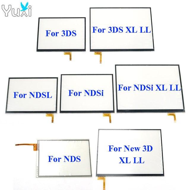 YuXi Touch Screen digitizer glas Touch Panel Display Vervanging Voor Nintendo DS Lite Voor NDSL NDSi XL voor Nieuwe 3DS XL