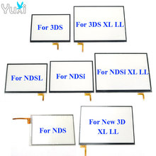 цена на YuXi Touch Screen digitizer glass Display Touch Panel Replacement For Nintendo DS Lite For NDSL NDSi XL for New 3DS XL