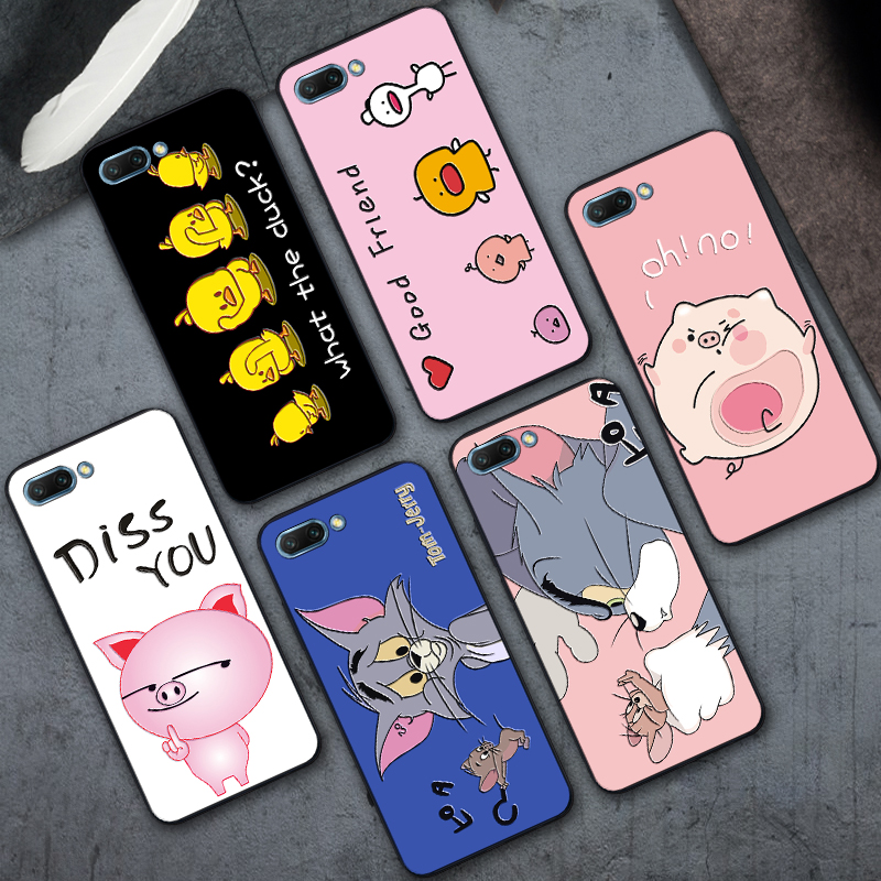 Cute Pig Phone Case For Huawei Honor 10 V10 Cases Good 3D Silicone Cover Case Honor 10 For Huawei Honor V10 Coque Fundas Honor10 image