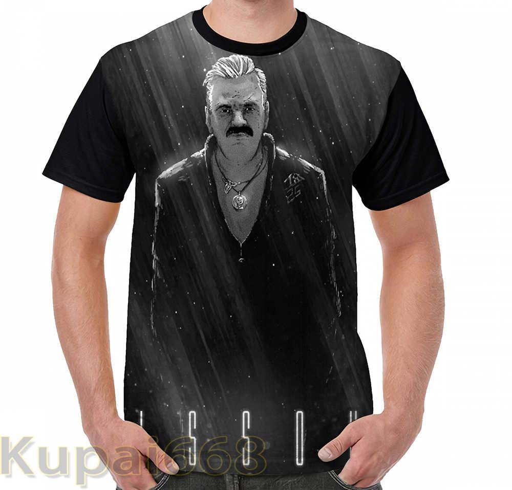 T-Shirt imprimé graphique drôle hommes hauts t-shirts ISSOU femmes T-Shirt à manches décontracté és