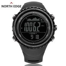 Männer sport Digital-uhr Stunden Lauf Schwimmen uhren Höhenmesser Barometer Kompass Thermometer Wetter Pedometer Digital Uhr