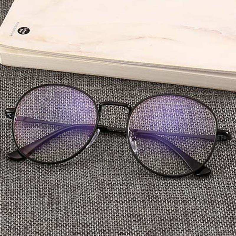Anti-blue radiation glasses eyewear///retro accessories personality flat light no degree