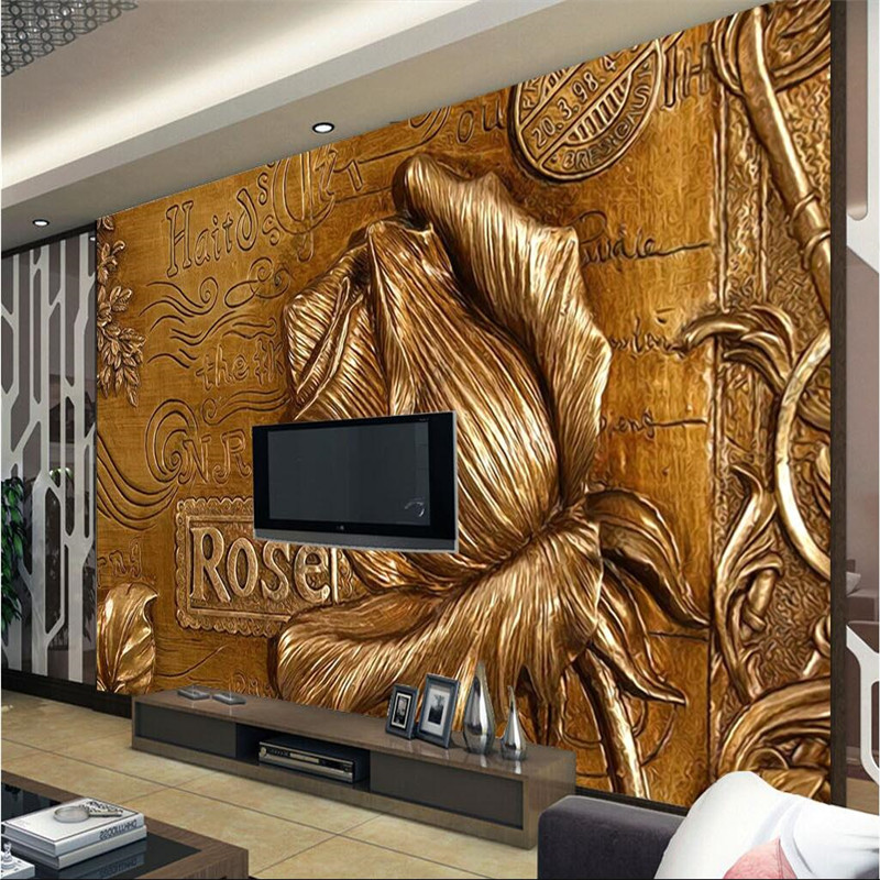 Wall wallpaper 3d photo stereo photography background for Mural 3d wallpaper