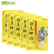 48Pcs / 6Bags kínai orvosi vakolat tízes láb izom hátsó váll váll test masszírozó egészségügyi ellátás tigris balzsam K00306