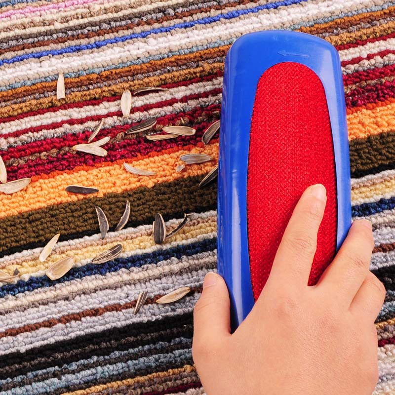 Plastic Table Crumb Sweeper Carpet Dust Brush Pet Hair Fluff Cleaner Sticky Picker Lint Roller Clothes Cleaning Brushes