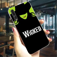 Wicked Lyrics Hard Cover for Huawei P Smart 2018 Print Phone Case for Huawei Mate 20 Pro 8 Lite 2017 P9 Lite 2016 Covers Back цена 2017