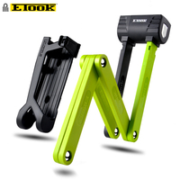 Etook Folding Lock Anti Theft Foldable Bicycle Lock For Motorcycle E bike Scooter Patent Side Pulling Design ET490