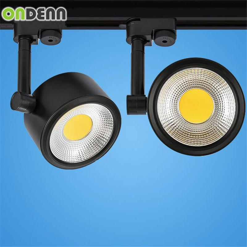 Lovely High Power 15w Led Track Light 15w Cob Rail Light Ac85-265v 15w Led Spotlight Equal To 150w Halogen Lamp Free Shipping10pcs/lot Supplement The Vital Energy And Nourish Yin Lights & Lighting