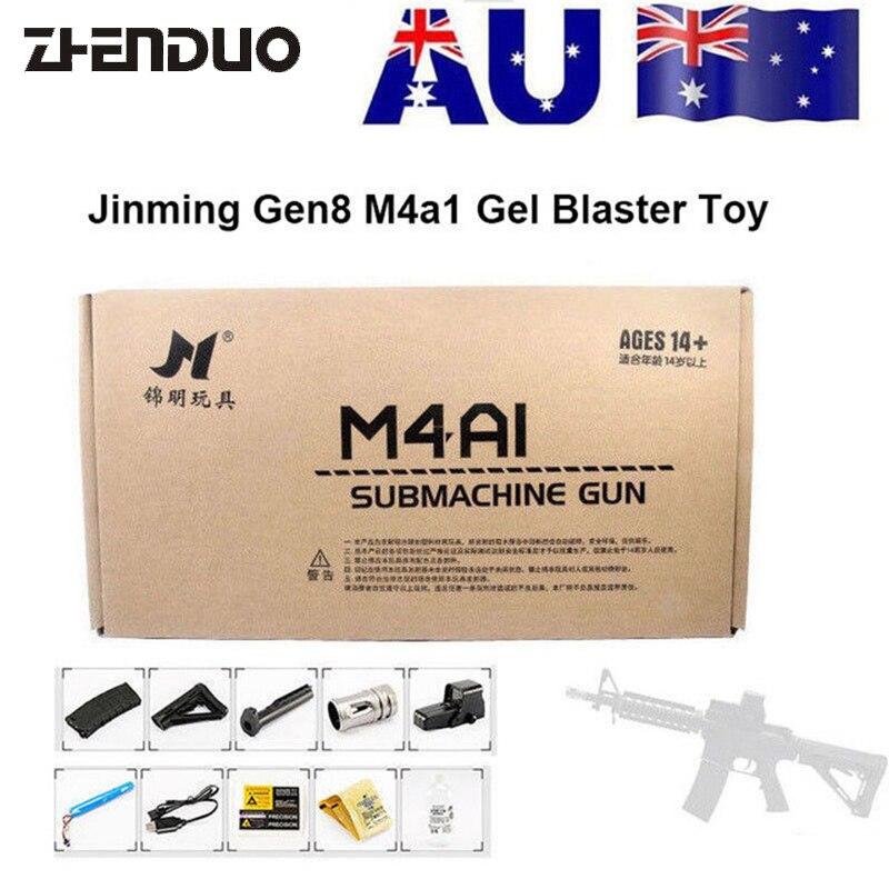 ZhenDuo Jouets JM8 M4A1 jouet électrique Gel Boule Blaster Gun Pour Enfants