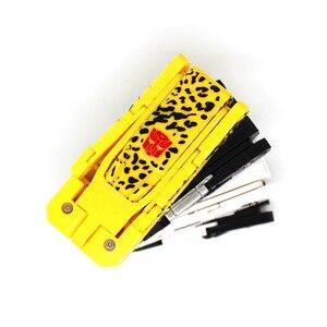 Image 2 - Hot sale plastic toy USB Flash Drive pen drive 64GB 32GB 16GB U disk pendrive 4GB 8GB memory stick Transformers robot Dog