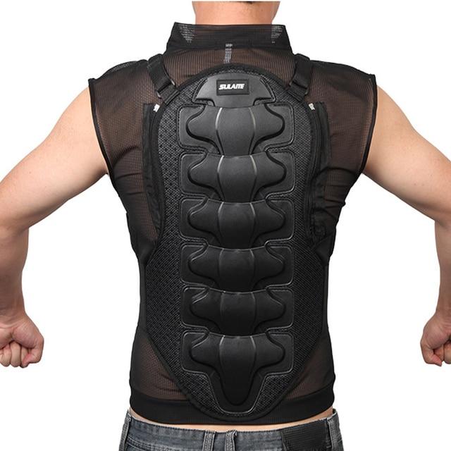 Moto armadura proteção corporal para motociclista, equipamento de proteção para o corpo, armadura protetora de coluna, peito, para senhoras e homens