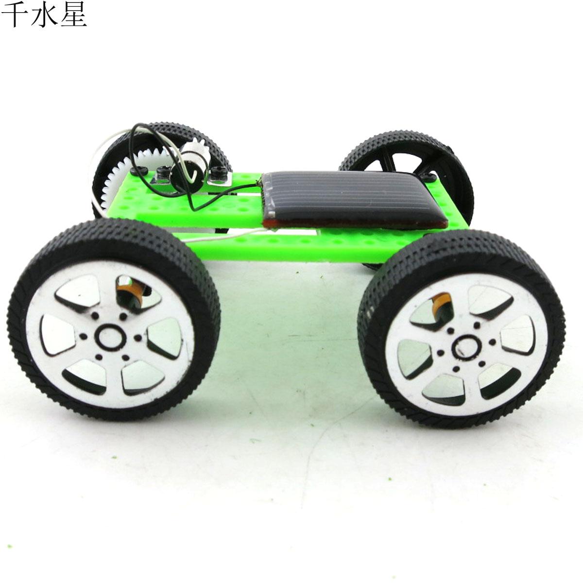 RU Solar model car, DIY production, interesting invention, model car ...