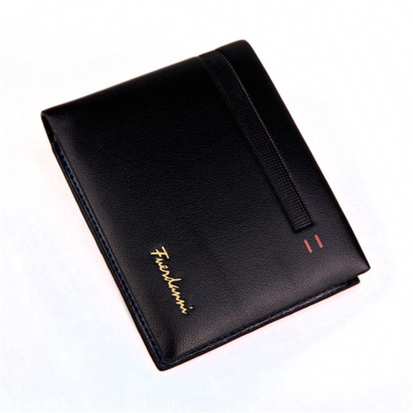 Simple Style Casual Men Wallets Short Design Card Holder Male Purse Business Thin Card Small MenS Wallets carteira masculina