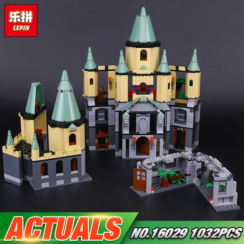 Lepin 16029 Genuine 1033Pcs Movie Series The Magic hogwort castle set 5378 Educational Building Blocks Bricks Toys Model Gifts lepin 16017 castle series genuine the king s castle siege set children building blocks bricks educational toys model gifts